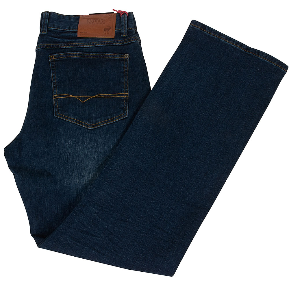 Barlow Bootcut Jean in Stonewash