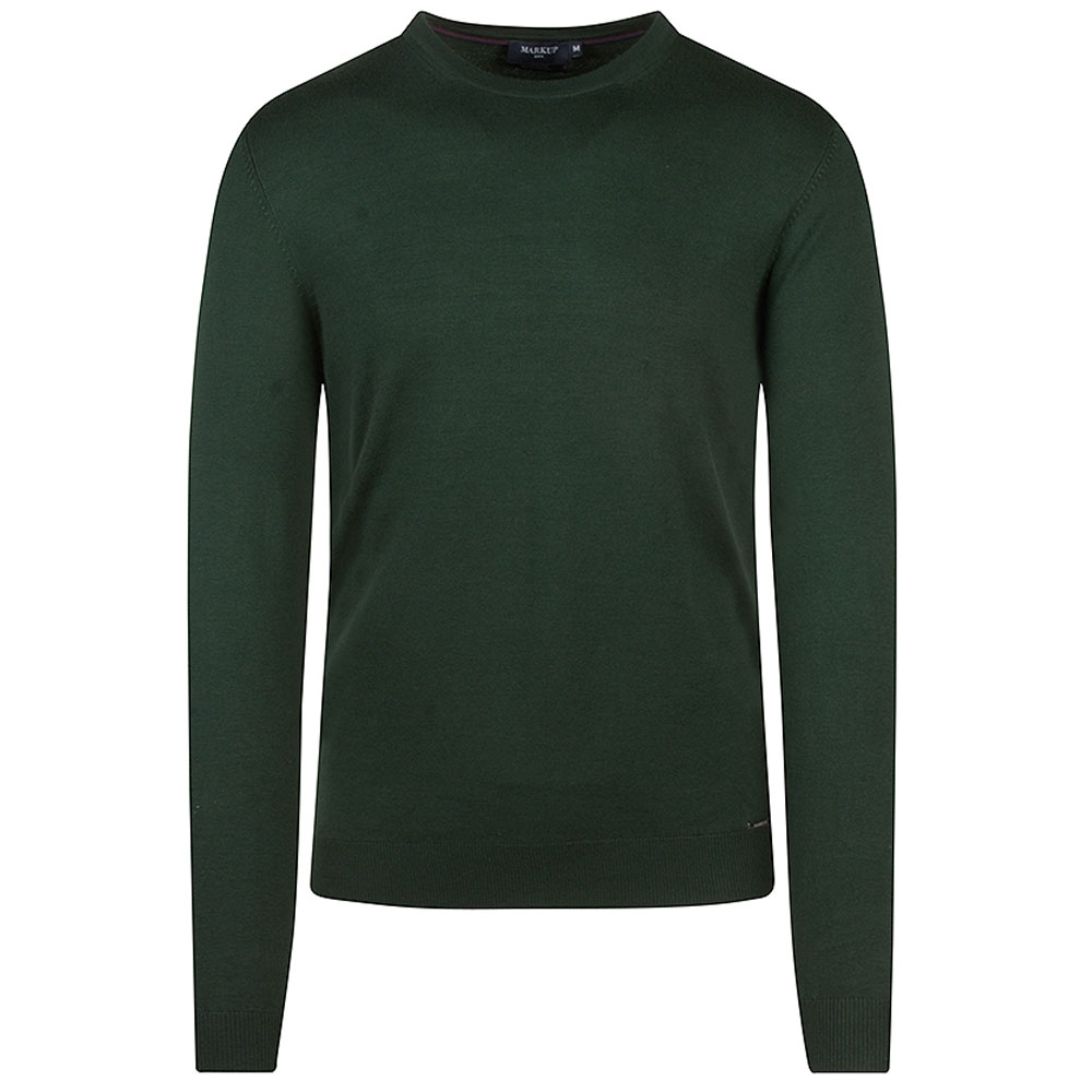 Knitted Sweater in Green