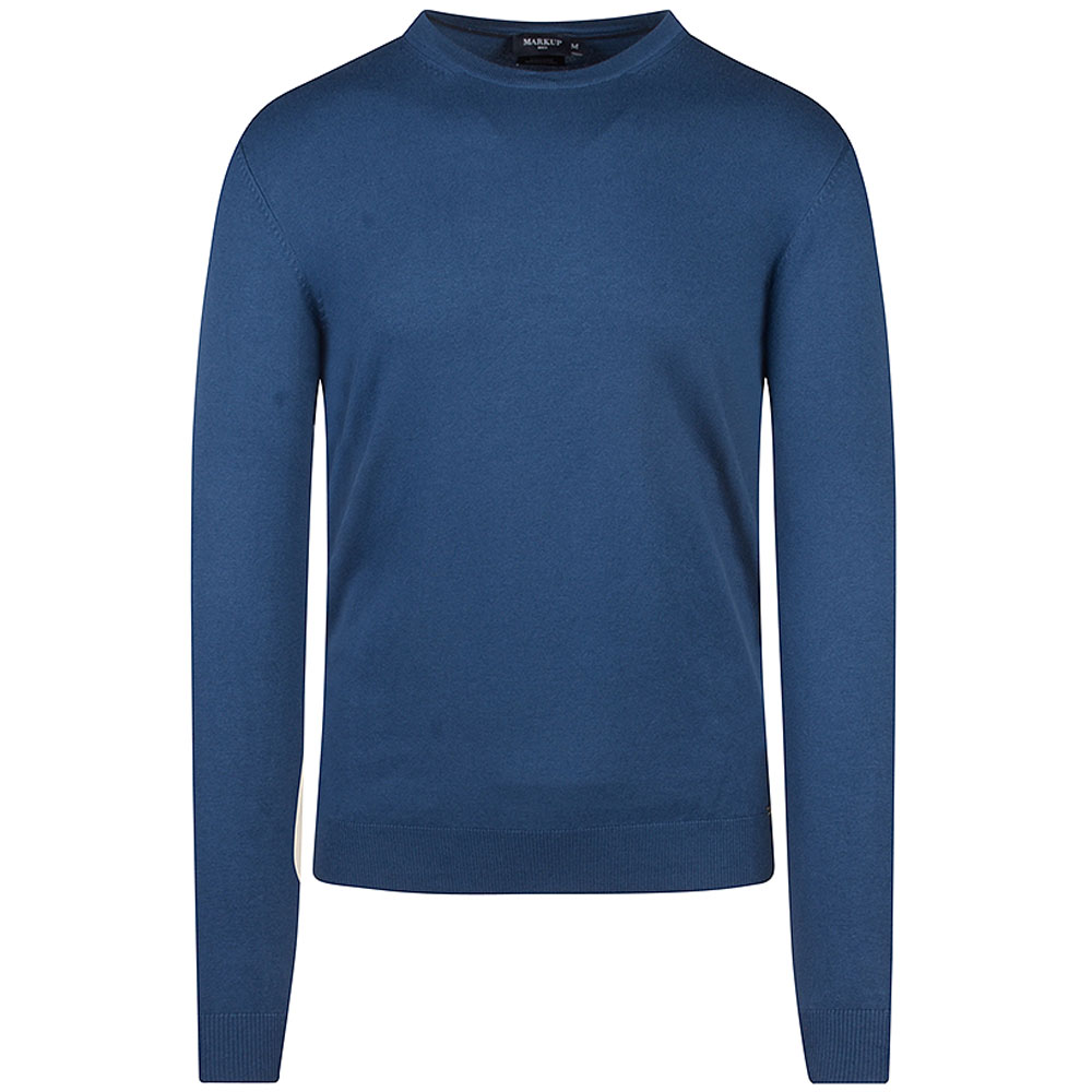 Knitted Sweater in Blue
