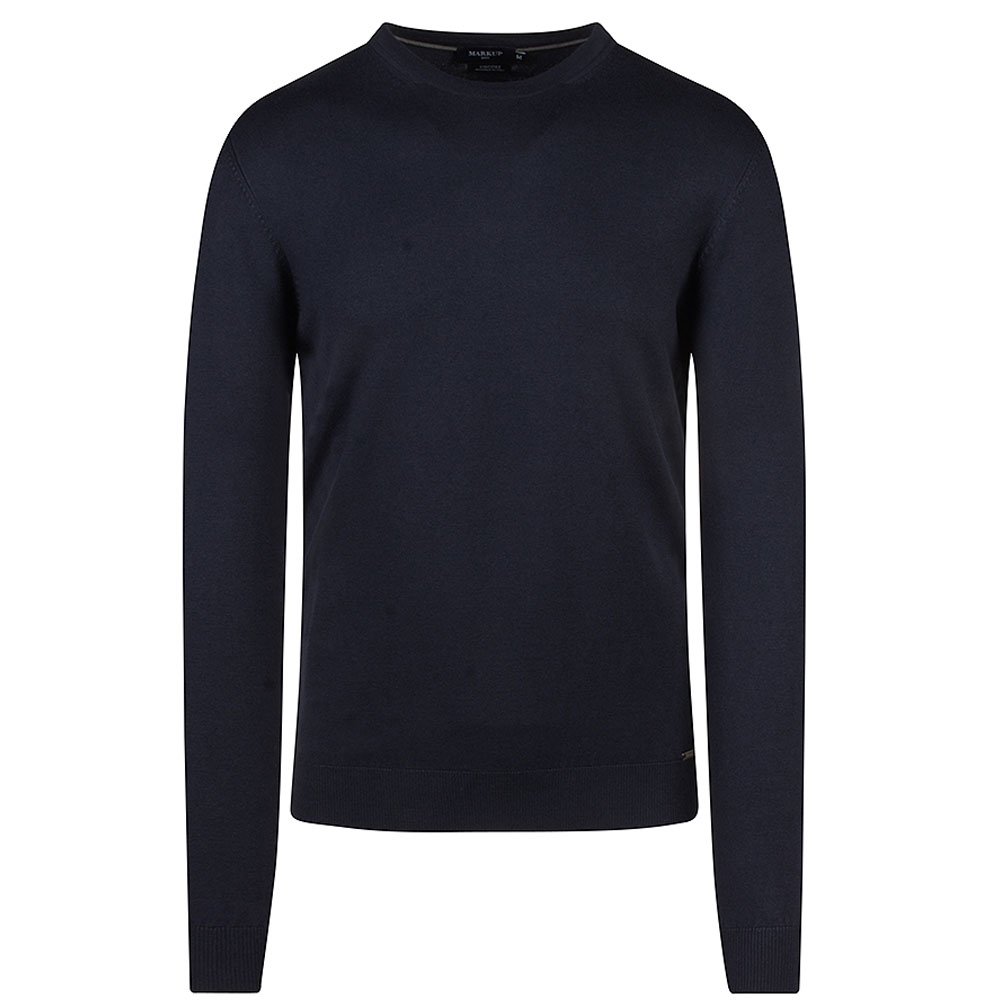 Knitted Sweater in Navy