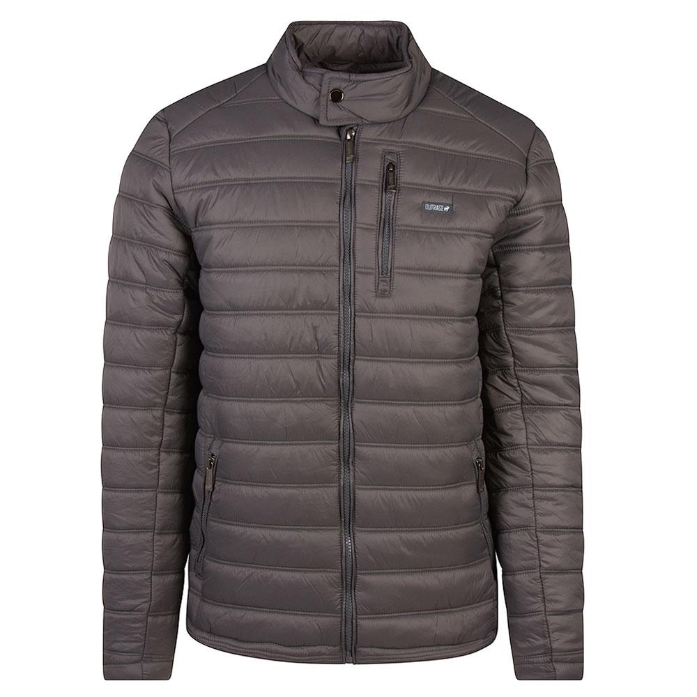 Aston Puffa Jacket in Grey