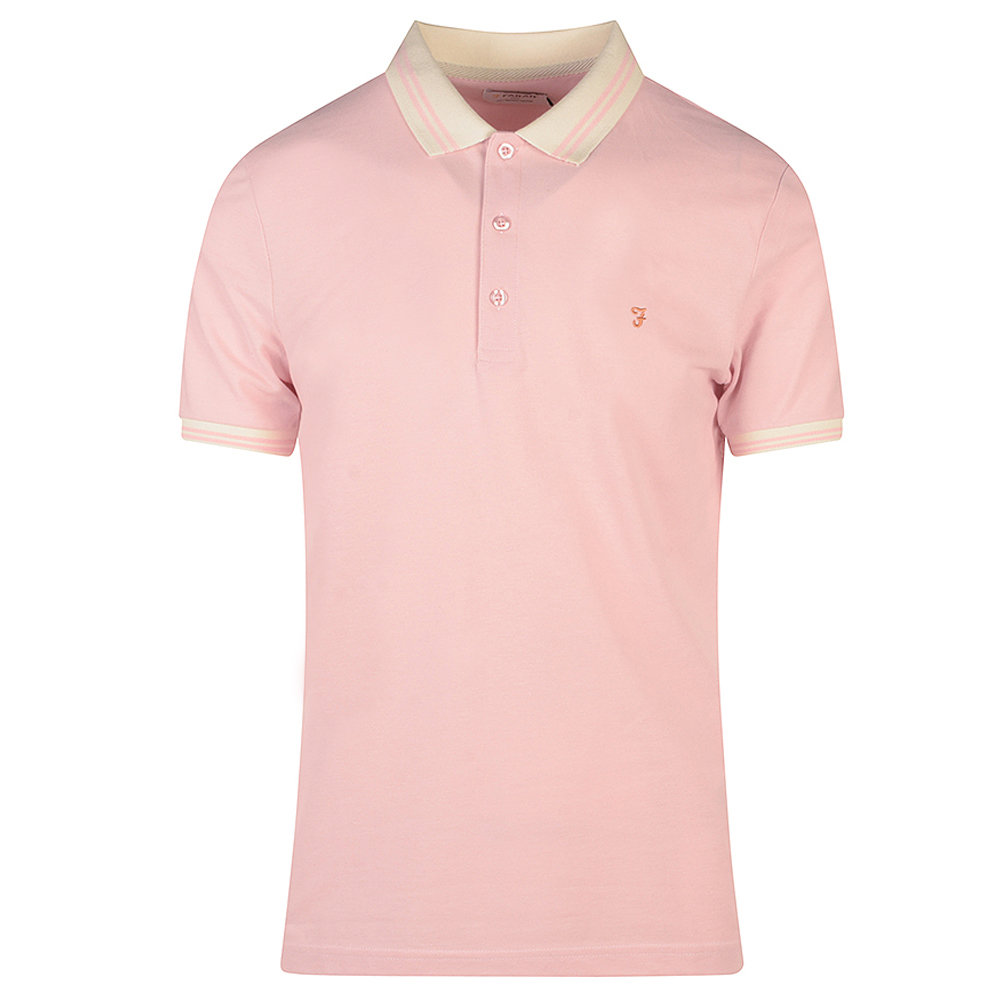 Stanton SS Poloshirt in Pink