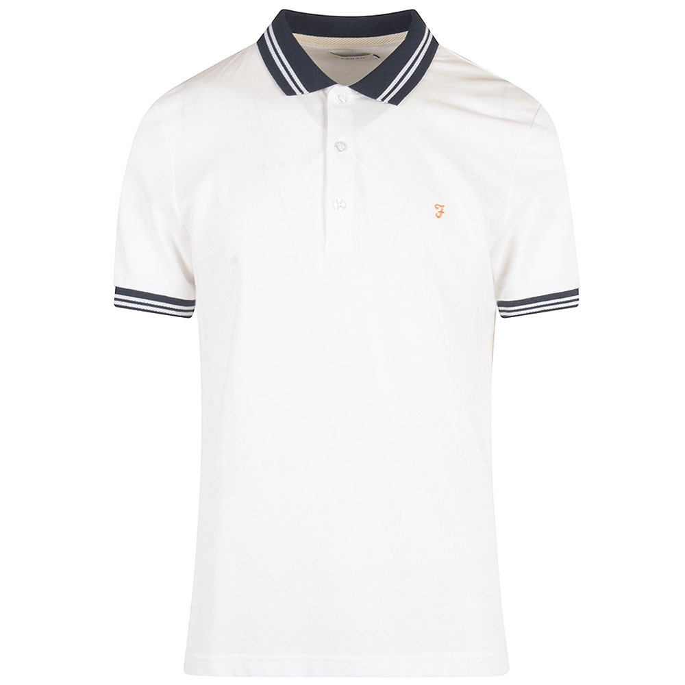 Stanton SS Poloshirt in White