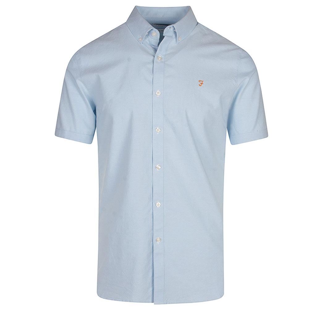 Brewer SS Shirt in Blue