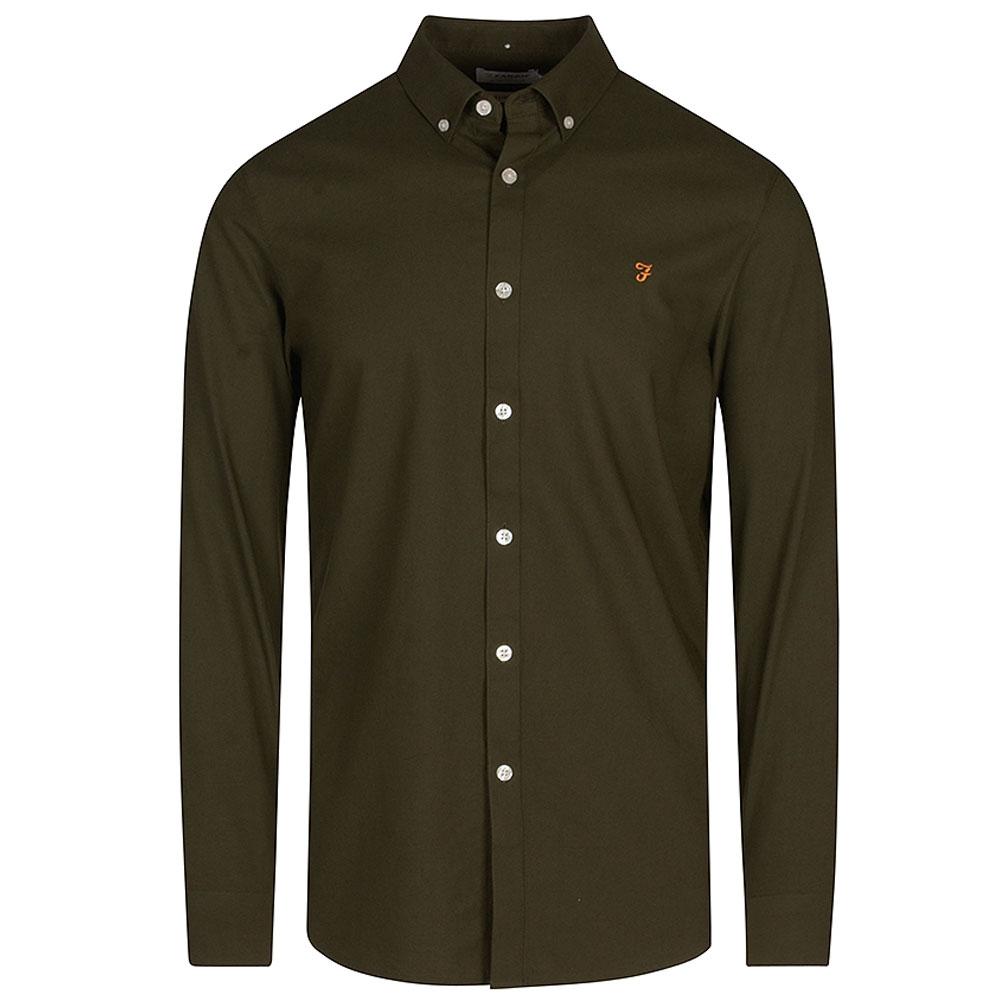Brewer LS Shirt in Green