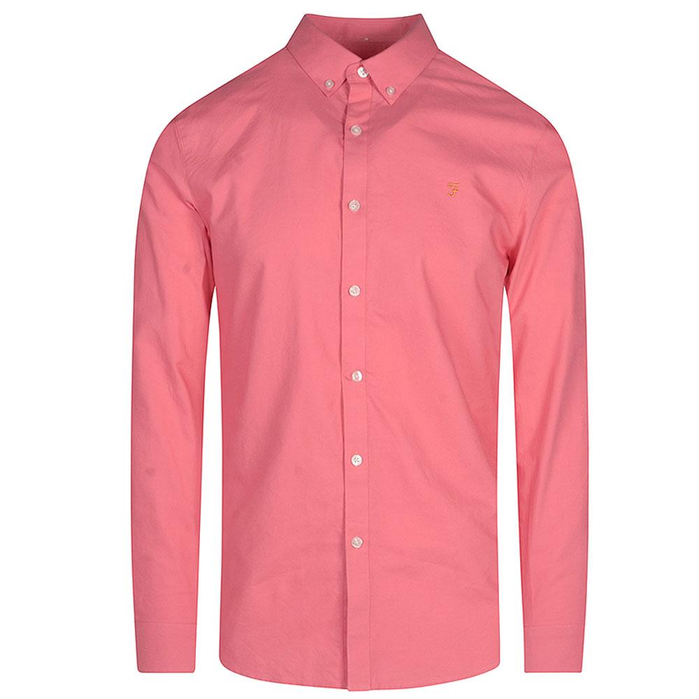 Brewer LS Shirt in Pink