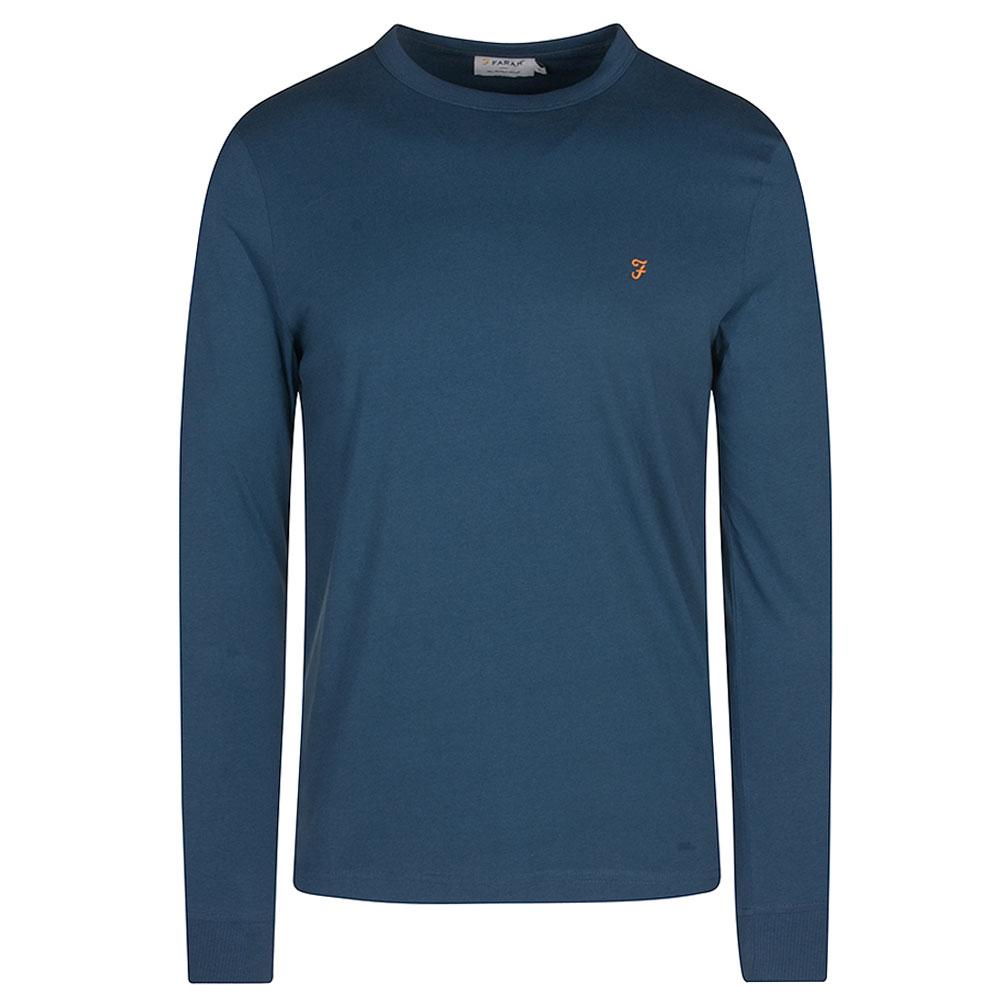Worthington LS T-Shirt in Lt Blue