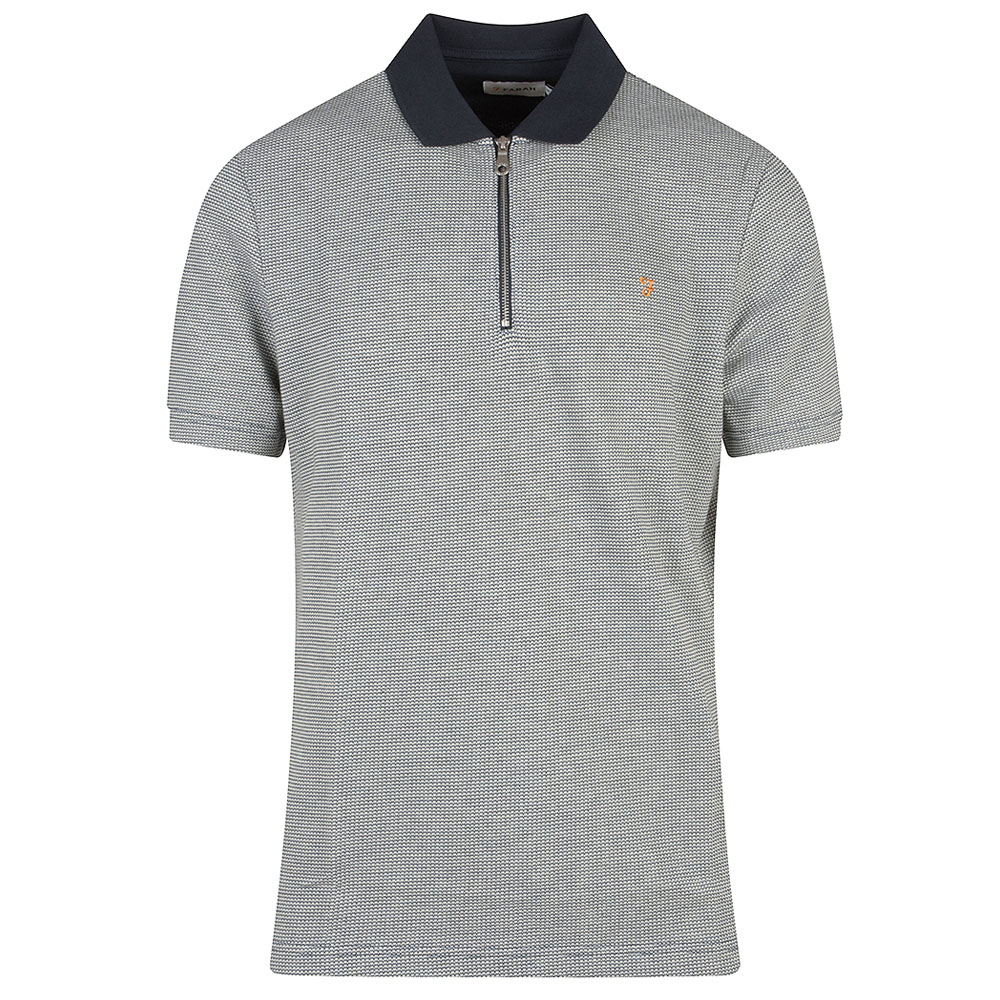Beverly SS Polo in Navy