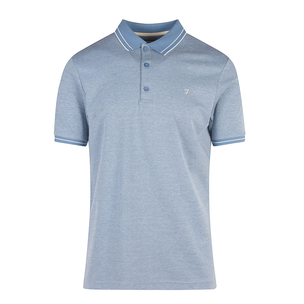 Moores SS Polo in Blue