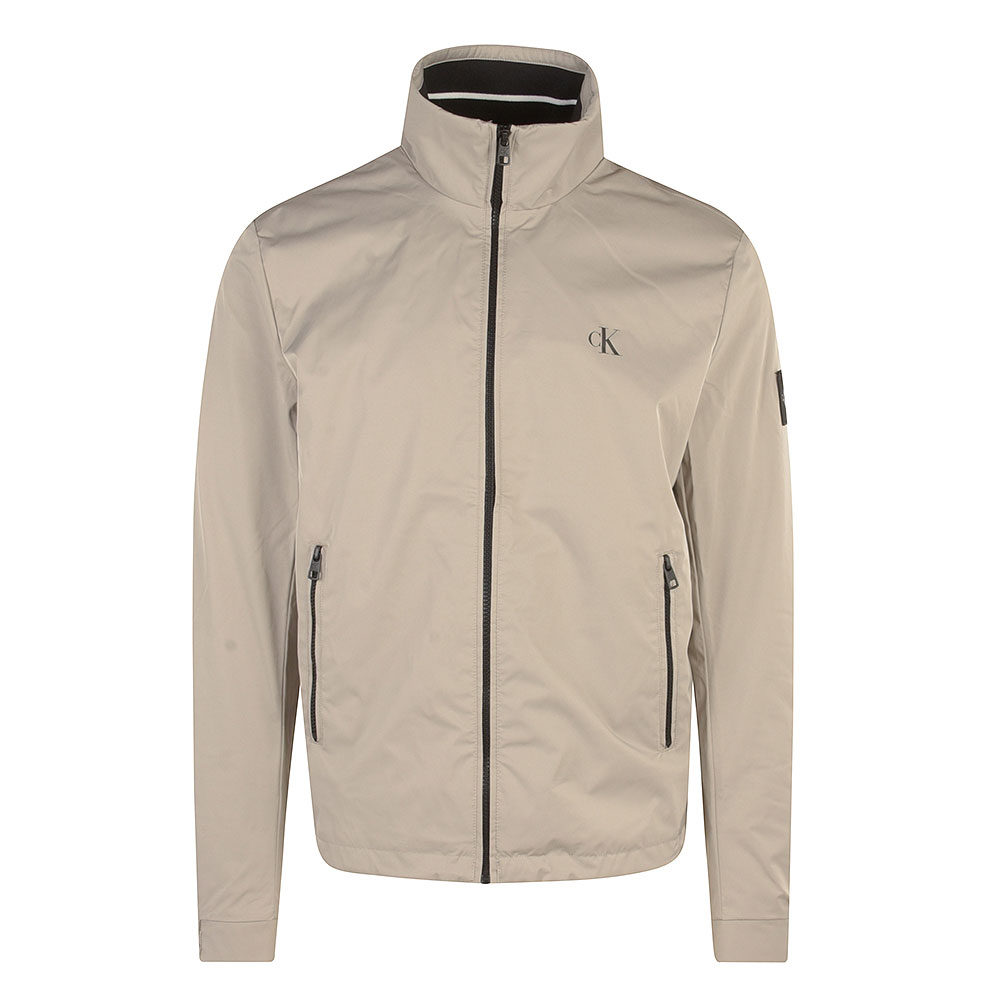 CK Nylon Harrington Jacket in Grey