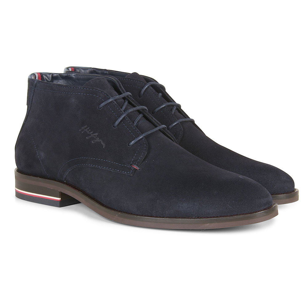 Signature Boot in Navy