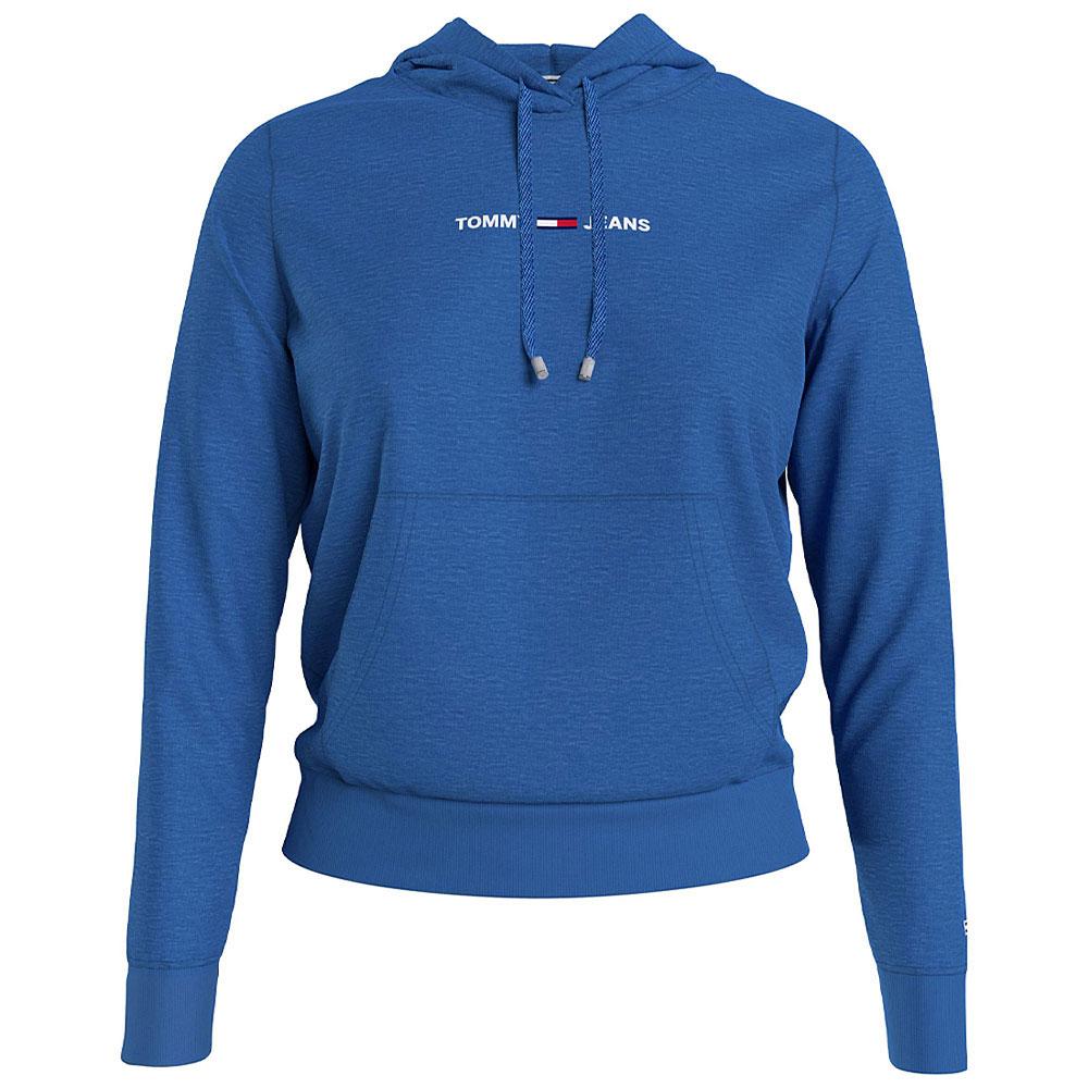 Linear Logo Hood in Blue