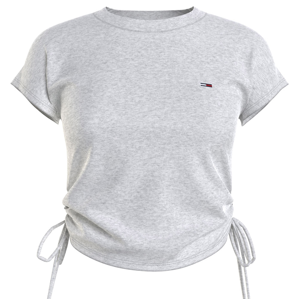 Side Knot T-Shirt in Grey