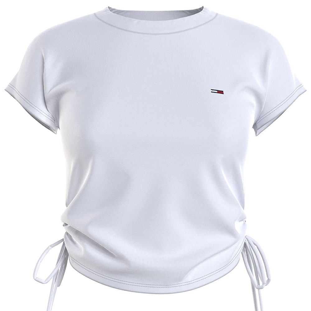 Side Knot T-Shirt in White