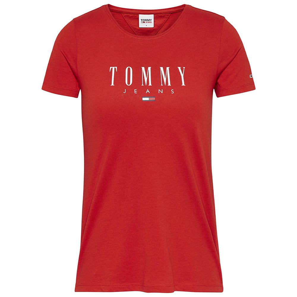 Essenial Logo T-Shirt in Red