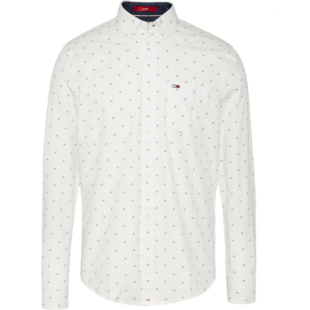 Dobby Shirt in White