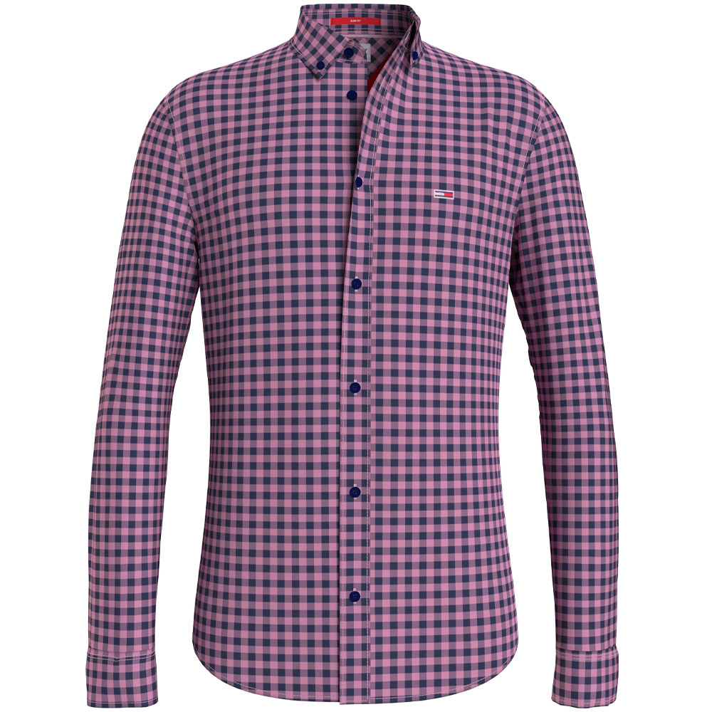 Essential Gingham Shirt in Pink