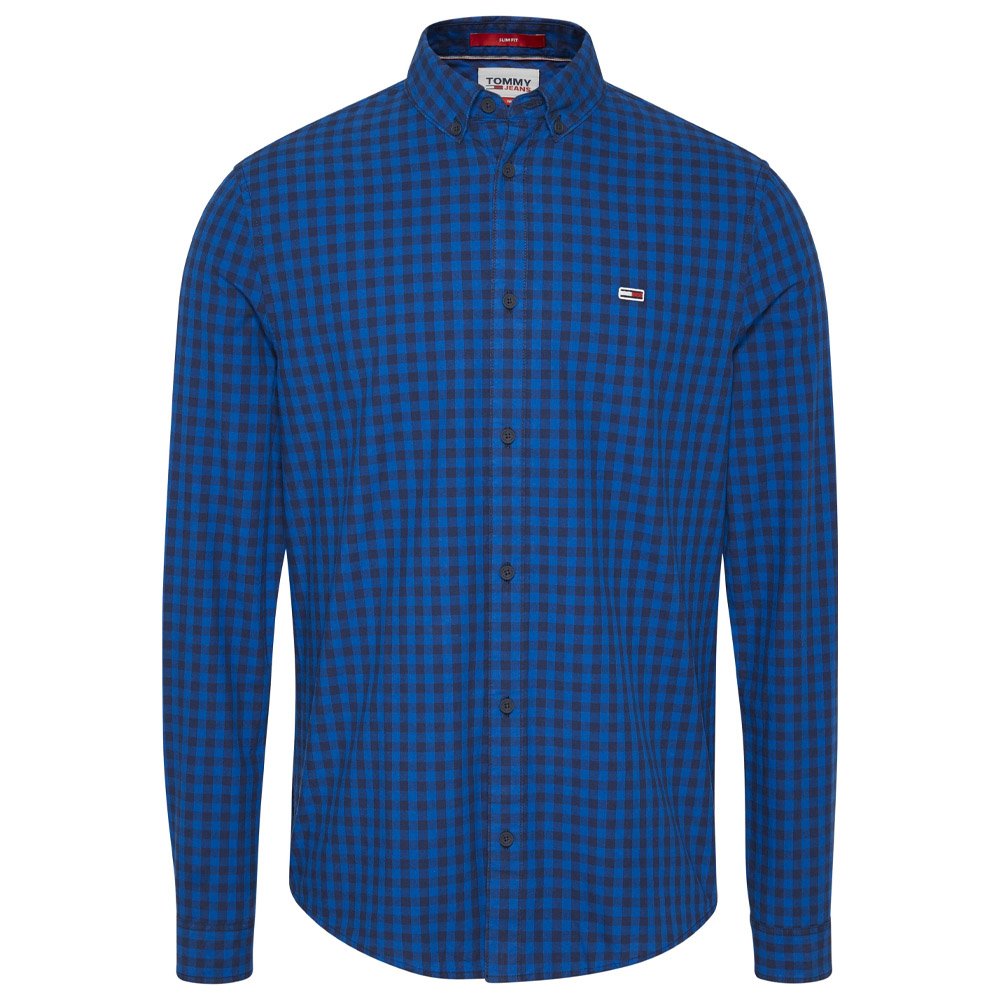 Essential Gingham Shirt in Blue