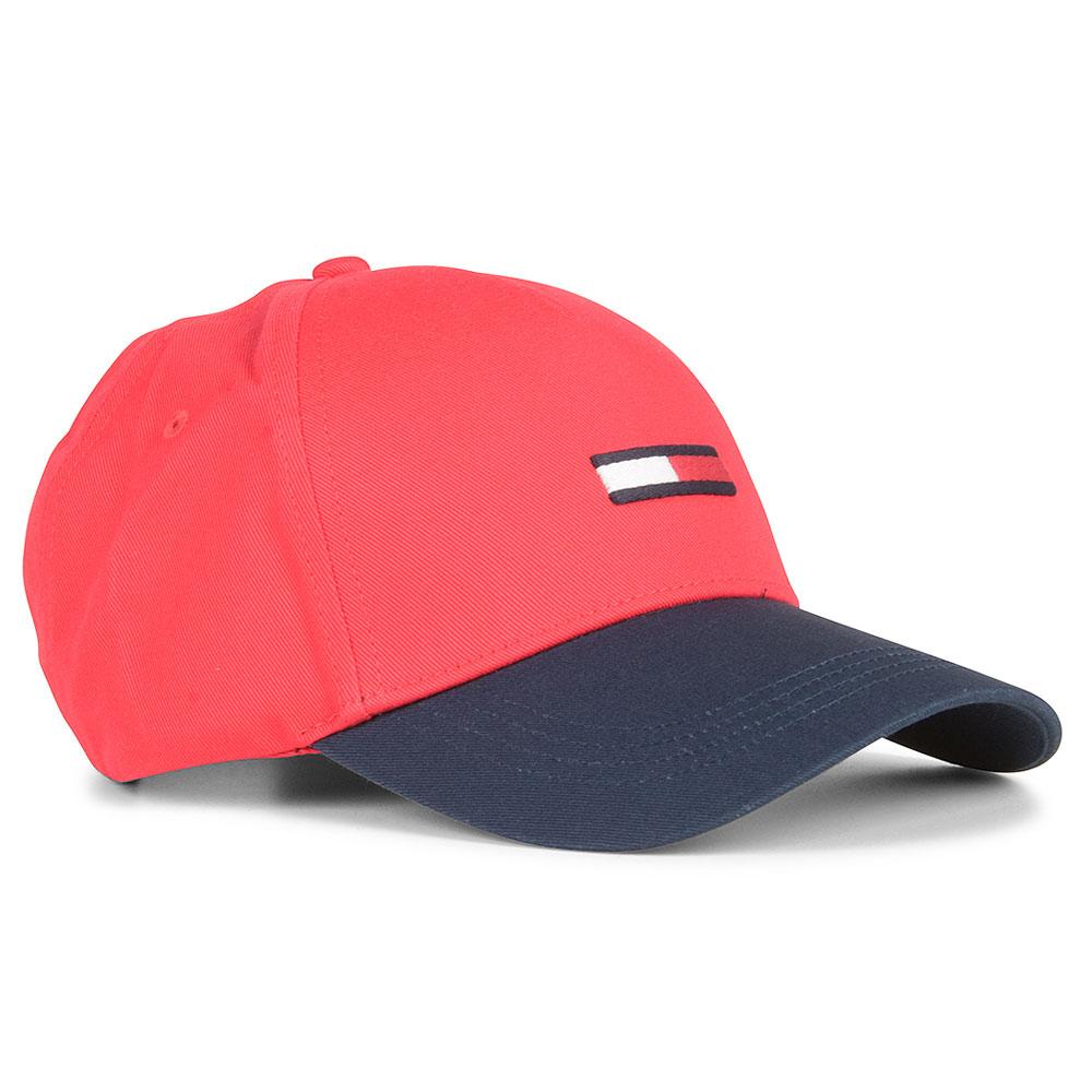 TJM Flag Cap in Red
