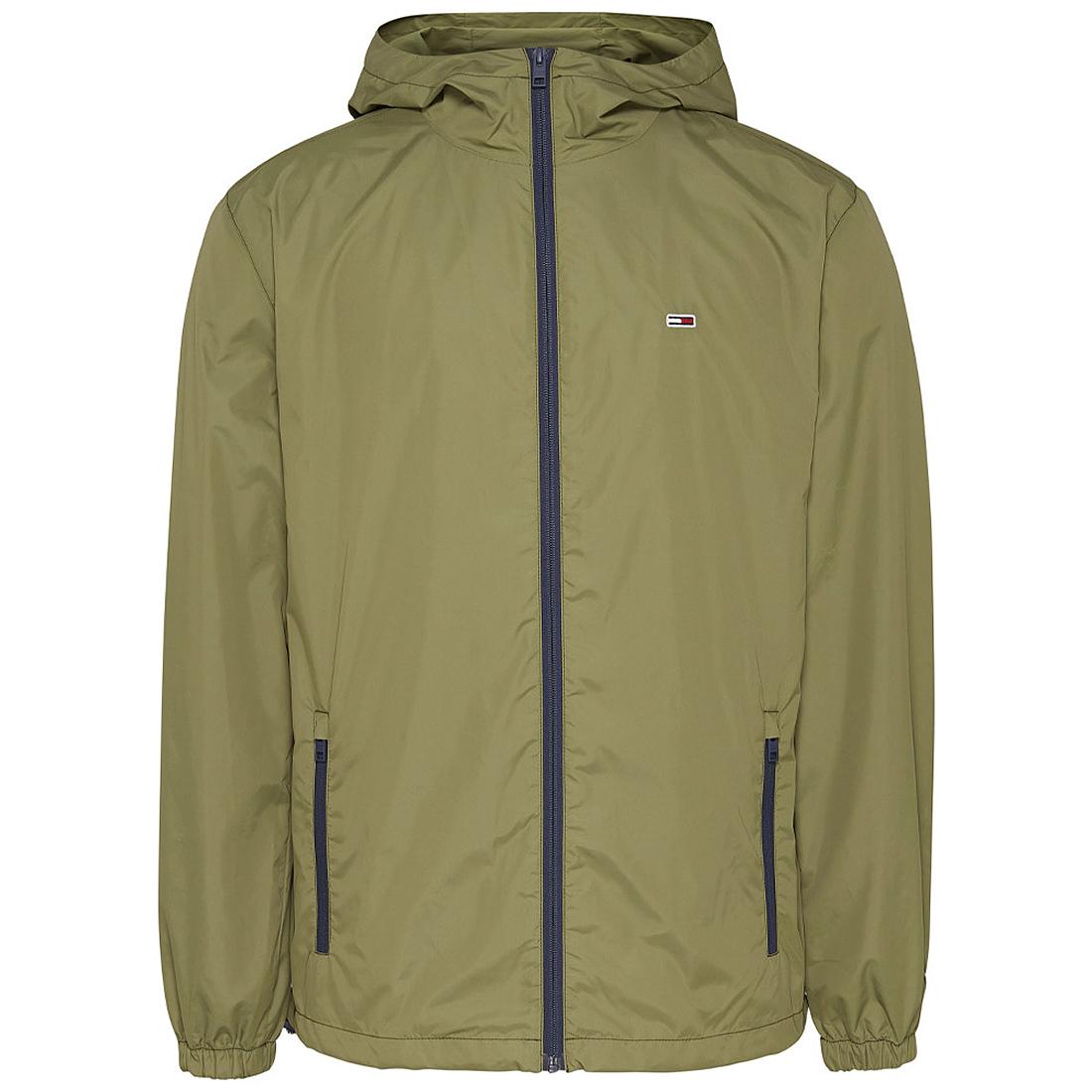 Packable Windbre Jacket in Green