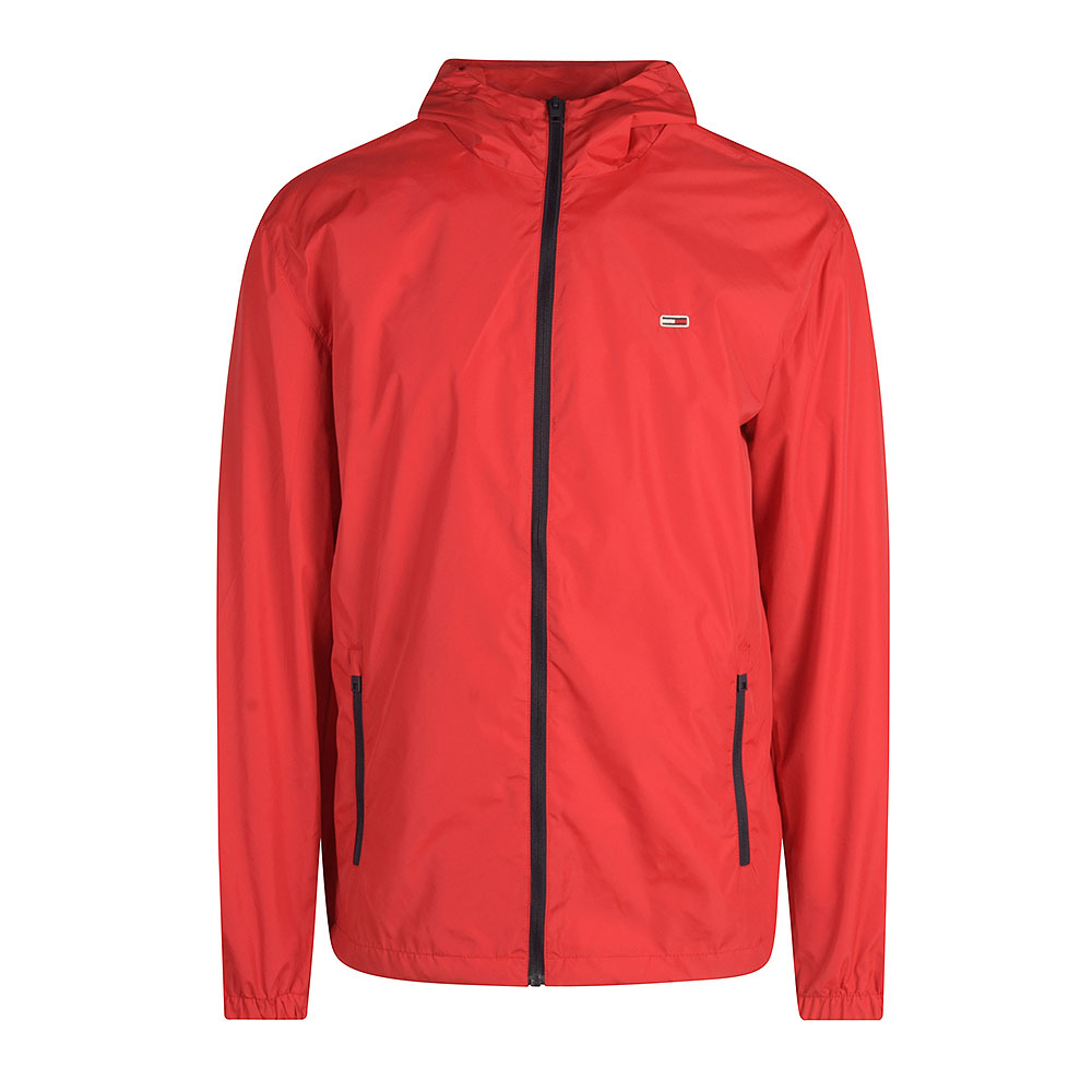 Packable Windbre Jacket in Red