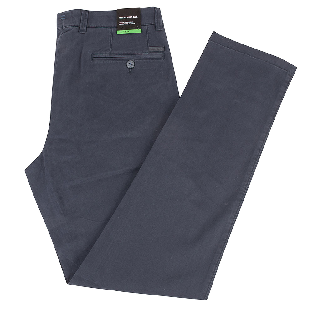 Elimo Trouser in Navy
