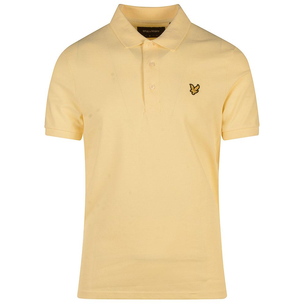 Polo Shirt in Yellow