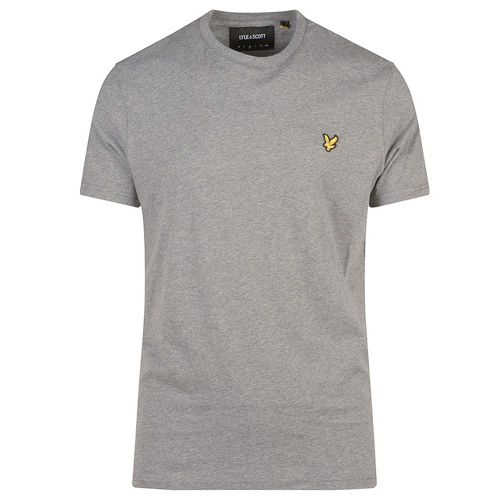 Crew Neck T-Shirt in Grey