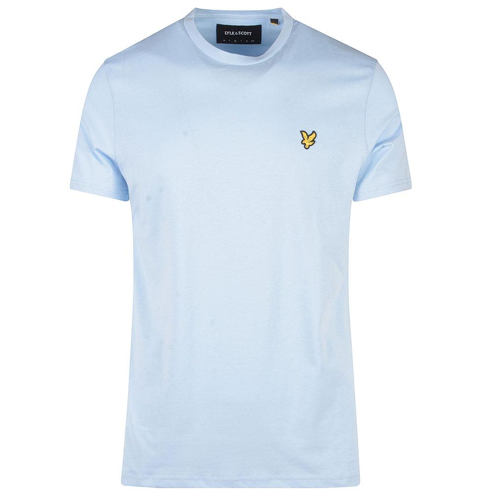 Crew Neck T-Shirt in Lt Blue