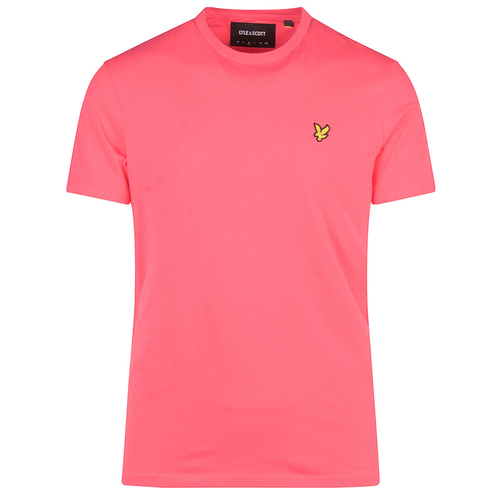 Crew Neck T-Shirt in Pink