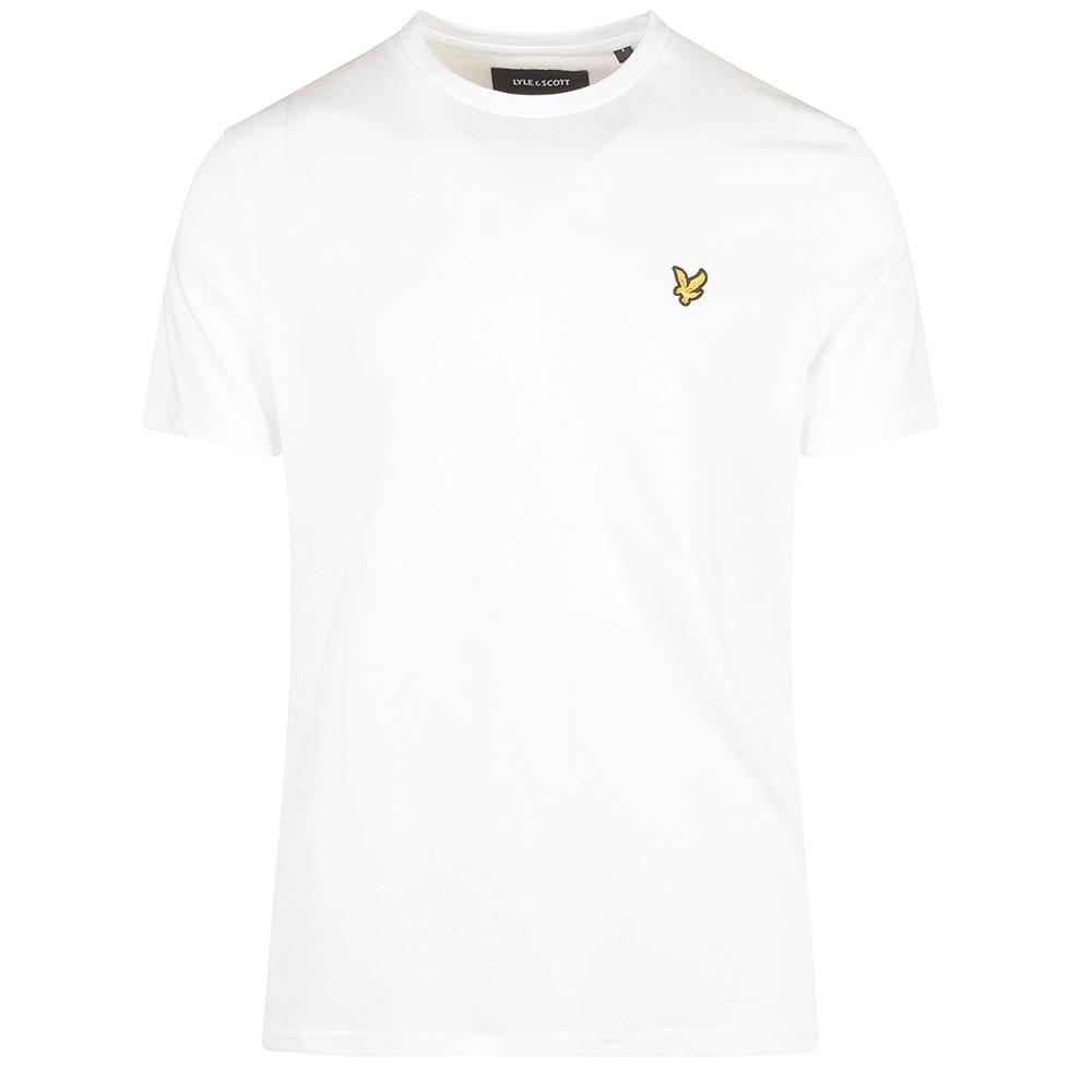 Crew Neck T-Shirt in White