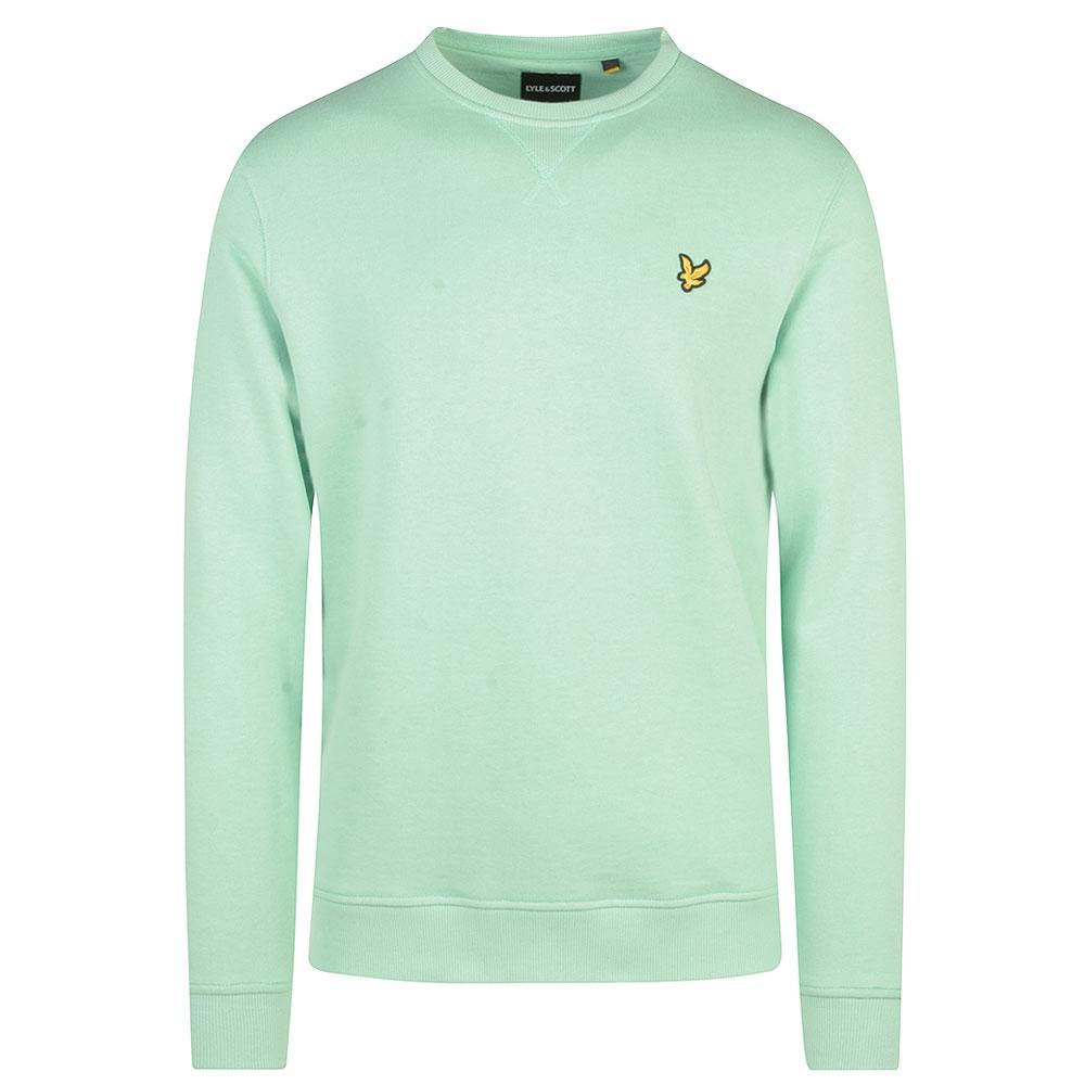Crew Neck Sweatshirt in Green