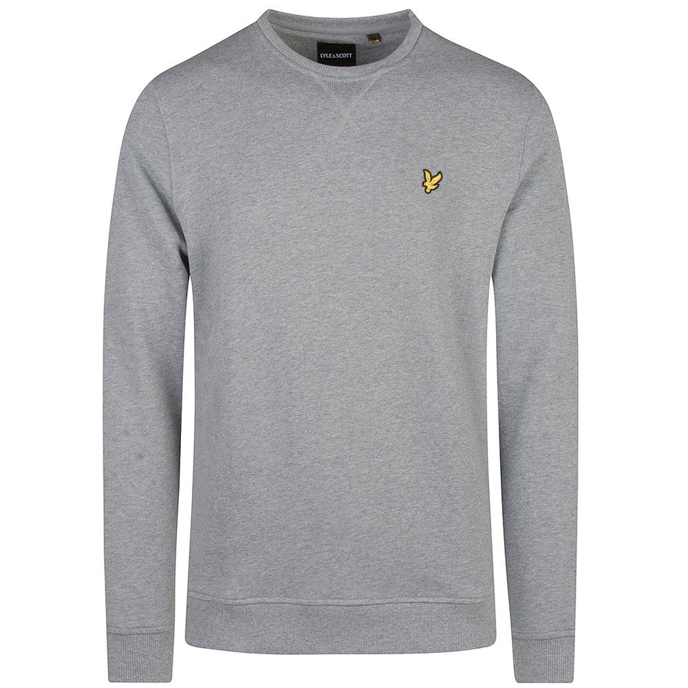 Crew Neck Sweatshirt in Grey