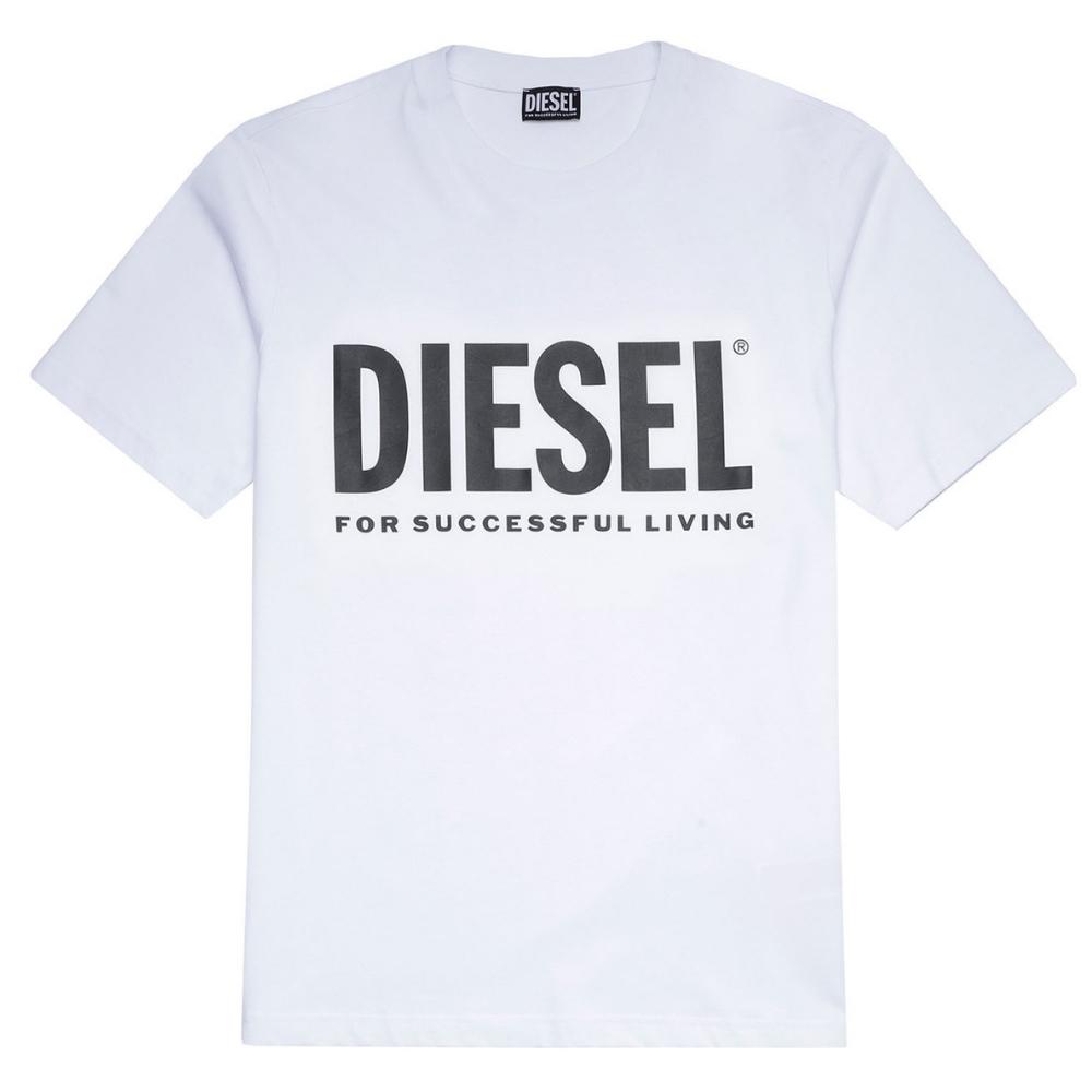 Diegos Eco Logo T-Shirt in White