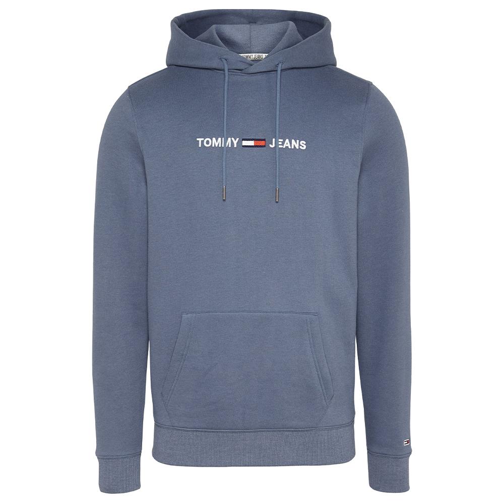 TJM Chest Logo Hoodie in Blue
